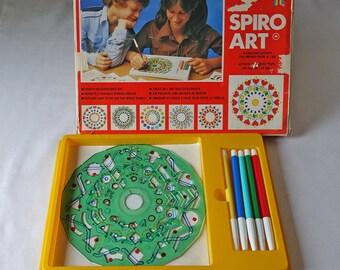 Spirograph Activity Set - SPiRO ART - Mandalas Stencil - Creative drawings