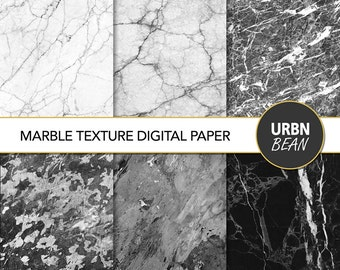 Marble Digital Paper. Marble Wallpaper, Marble Background, Marble Digital Texture. Printable. Instant Download. Minimalist