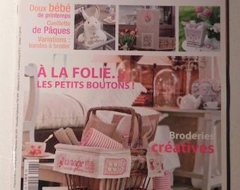 YARN needle magazine / cross-stitch No. 68