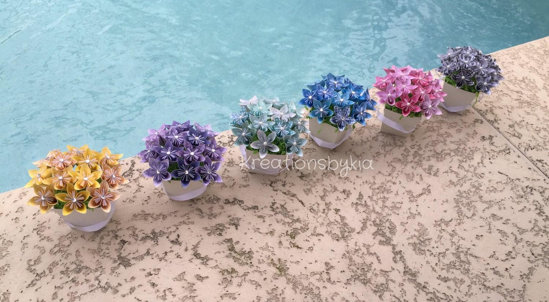 Twinkle toes kusudama origami flower bouquetflower zoom jeuxipadfo Gallery