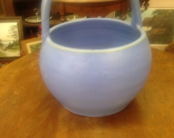 Cherokee Pottery Basket                  Louisville Pottery