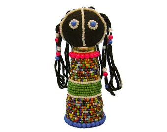 "Medium Ndebele Doll. 4-5"" (1004-M)"