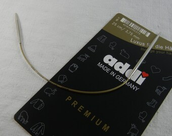 addi fixed circular needle 25 cm 2.0 - 3.75 mm, sock miracle, 2 different tips