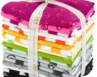 Great Deals Color Dash Bundle by Heather Jones ONLY 1 LEFT Fat Quarter Bundle complete collection for Robert Kaufman fabric