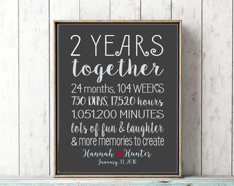 Year anniversary etsy