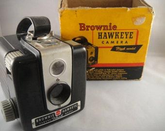 Brownie Hawkeye Flash Camera  in Box