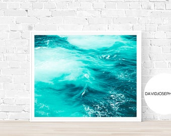 Sea Print, Ocean Print, Mist Print, Fog Print, Sea Wall Art, Ocean Wall Art, Wave Print, Ocean Decor, Digital Download, Sea Decor