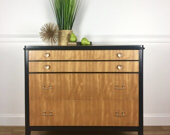 Mid Century Modern 3 Drawer Dresser / Buffet