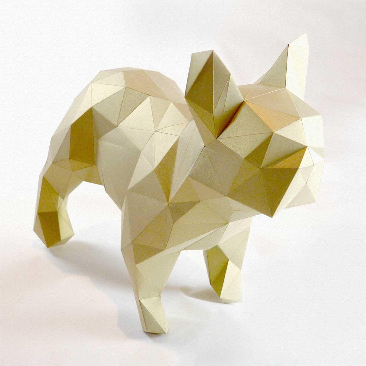 Dogo DIY folding kit for a beautiful geometric low poly