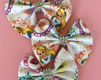 Alice in wonderland bow