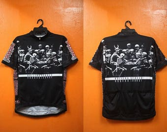 SALE vintage rolling stone cycling shirt