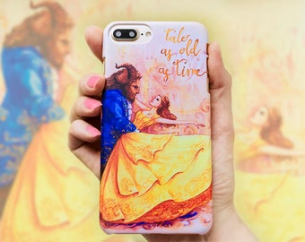 Dance, Beauty and the Beast Phone case for iPhone, Samsung, other by Takila