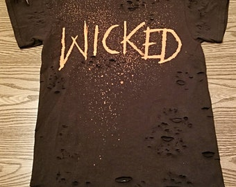Distressed Wicked Tee