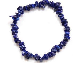 Baroque bracelet lapis lazuli