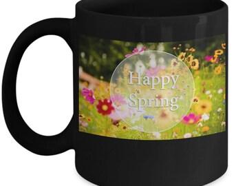 Happy spring mug