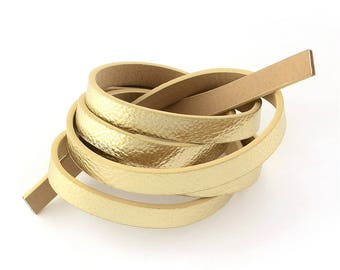 1.2 meter of 10mm gold flat cord