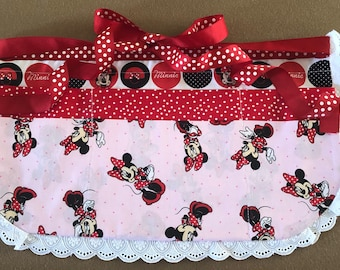 Minnie Mouse Apron for Teacher or Waitress