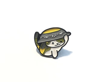 Chairman Meow Enamel Pin *Neko Atsume*