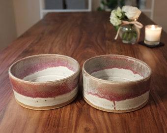 2 large succulent planters - pottery
