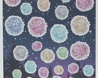 Spark Decorative Stickers