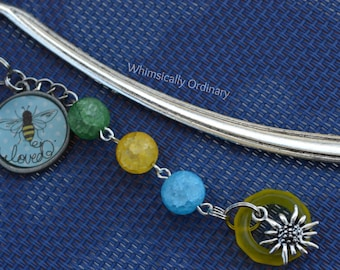 Bee Loved Book Bling Bookmark