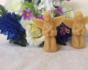 Angel Beeswax Candle