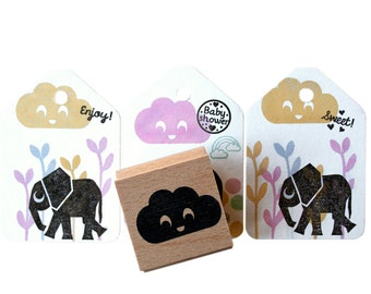 Cloud ink stamp with smiling face, happy cloud stamp, happy cloud ink stamp, smiling cloud stamp,happiness, cloud for her, happy faces cloud
