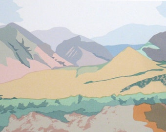 On Maui, limited edition serigraph