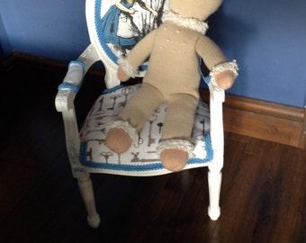 Mini Alice in Wonderland inspired Louis chair