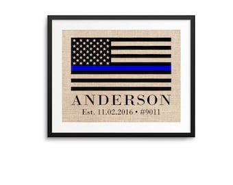 Police Academy Graduation // Police Graduation Gift // Police Academy // Police Officer Gifts // Gifts for Police Officers // Personalized