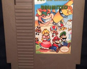 Super Mario Bros Unlimited NES Game