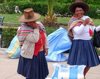 Laughing in Raqchi, Peru.