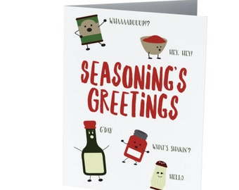 SEASONING'S GREETINGS  |  Funny Christmas card