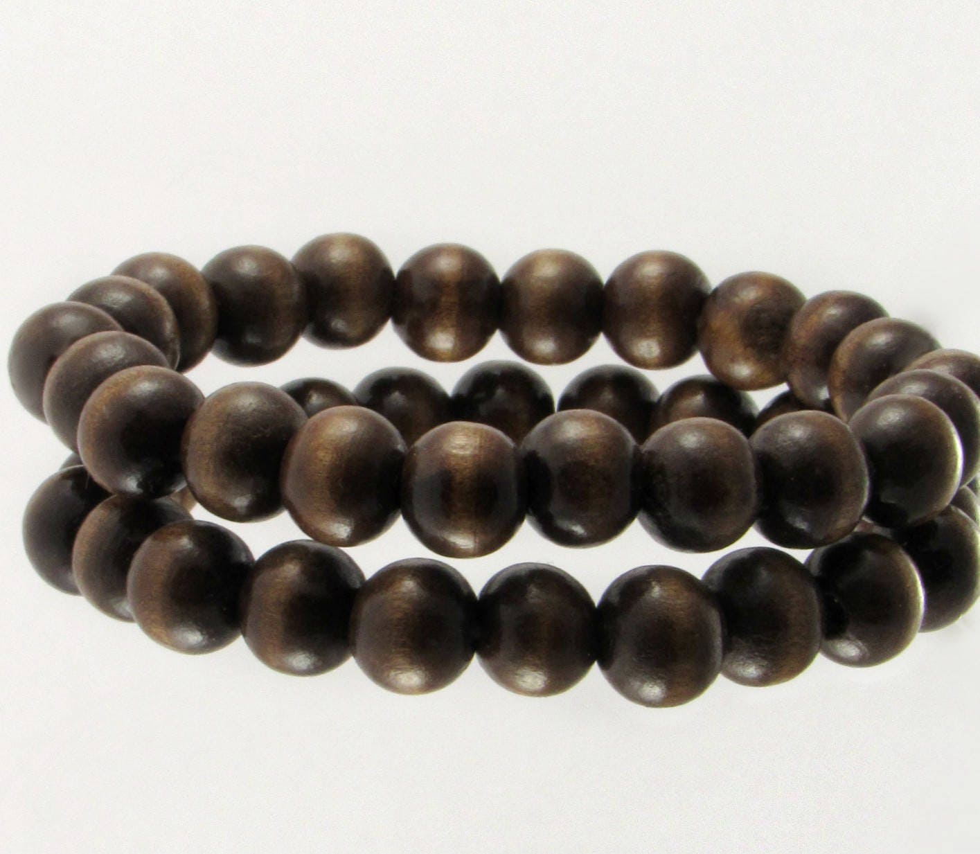 beaded wood buddhist fibo com for amazon necklace mens elastic steel jewelry beads womens bead dp wooden adjustable bracelet