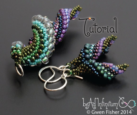 Tutorial slugs in love beaded earrings and pendants with peyote tutorial slugs in love beaded earrings and pendants with peyote stitch from gwenbeads on etsy studio aloadofball Image collections