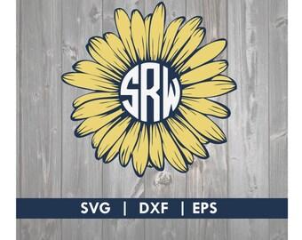 Gerber Daisy SVG DXF Silhouette Cameo Cricut Cut File
