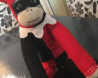 Harley quinn Sock Monkey