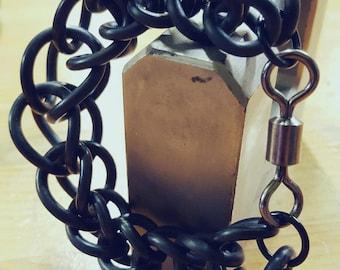Ricicleti rubber O-Rings bracelet