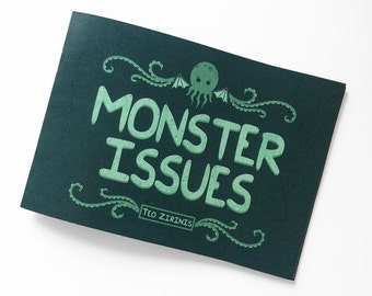 Monster Issues A5 Landscape Comic Book