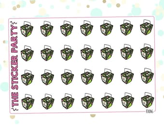 Takeout THAI EXPRESS Planner Stickers