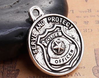 Saint Michael Pendant, Patron Saint of Police Officers  (2147)