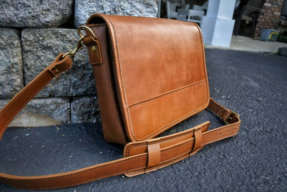 Mens Leather Satchel Leather Crossbody Bag Handmade Leather