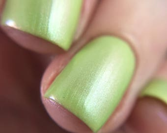 Island Pines - Green Shimmer Polish