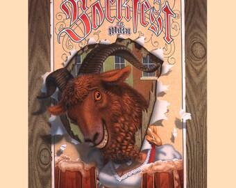 Bockfest 1995 poster