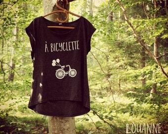 TShirt - Bike - A Bicyclette - LouAnne