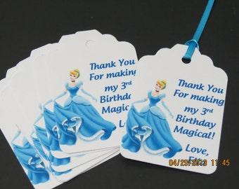 Cinderella Favor Tags (set of 12)