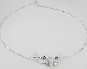 Angel Swarovski Crystals Necklace