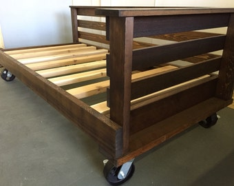 """The """"Sullivan's Island"""" Porch Bed on Wheels/Casters (FREE SHIPPING)"""