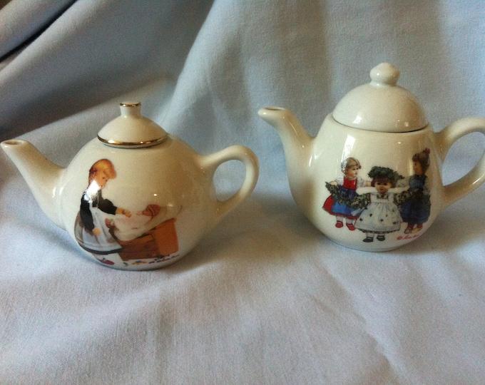 Vintage Käthe Kruse porcelain doll coffee pot milk jug
