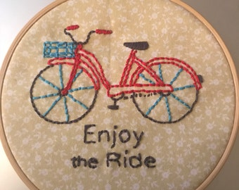 Enjoy The Ride - Embroidery